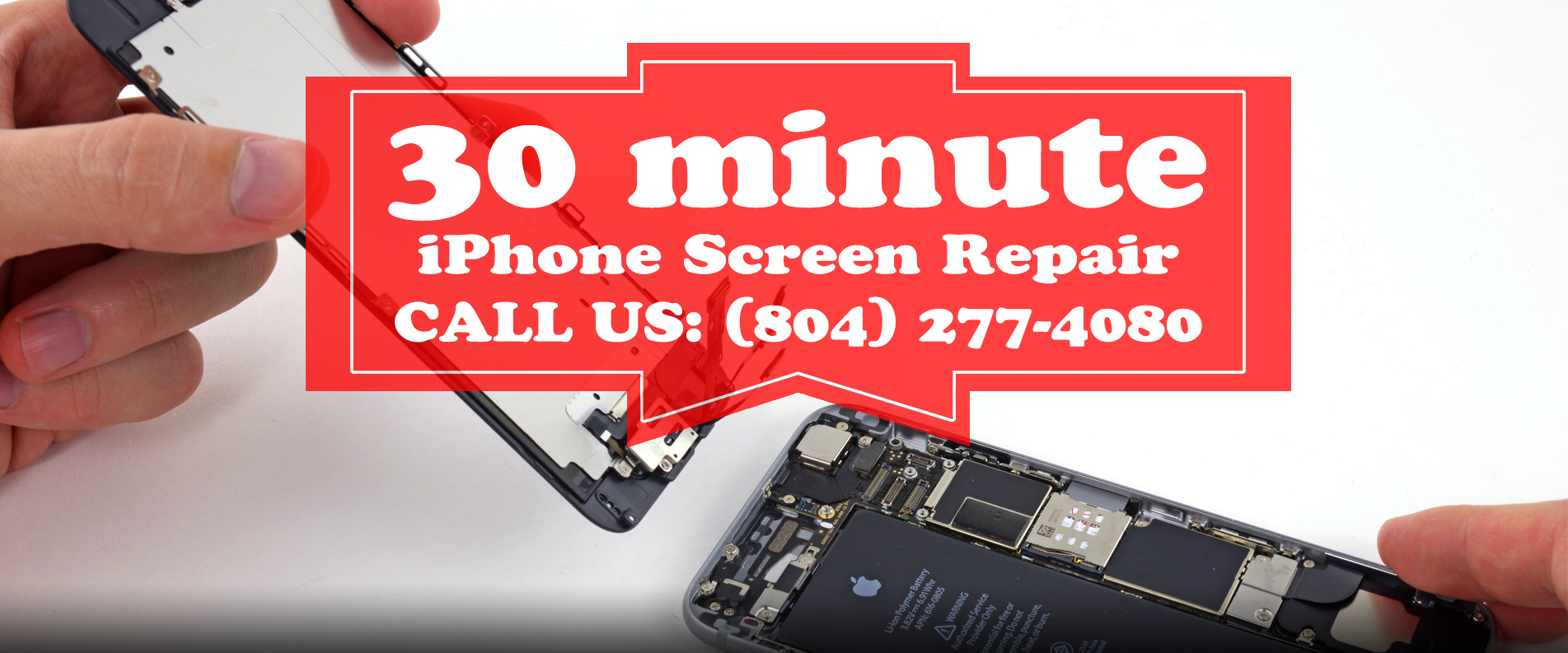 30 Minute iPhone Screen Repair